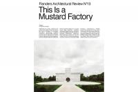 Architectuurboek Vlaanderen N° 13. Dit is een mosterdfabriek