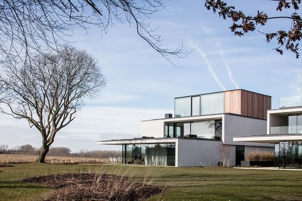 Logement modèle architectural à Oosterzele comme alternative à la maison témoin